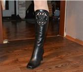 Фотография в Одежда и обувь Женская обувь Продам женские сапоги, натуральная кожа, в Братске 1000