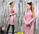 Фотография в Одежда и обувь Женская одежда платья ткань барби с гепюром 42-44 размер-450 в Чебоксарах 0