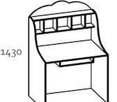 Изображение в Мебель и интерьер Мебель для детей Продается новый компьютерный стол детский в Улан-Удэ 4500