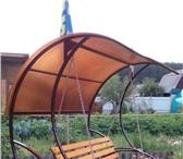 Фотография в Мебель и интерьер Мебель для дачи и сада Изготовлю качели для отдыха. Каркас из стальной в Екатеринбурге 17000