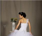 Изображение в Одежда и обувь Свадебные платья Красивое, пышное, белое свадебное платье.Такое в Аксай 10000