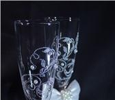 Изображение в Развлечения и досуг Разное Свадебные бокалы ручной работы.  Особенные в Санкт-Петербурге 2000