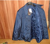 Foto в Одежда и обувь Мужская одежда Куртка темно-синего цвета демисезонная, удлиненная в Орле 3000