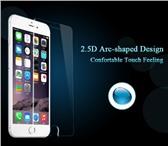 Фотография в Телефония и связь Аксессуары для телефонов Закаленное 2.5 D стекло для iPhone 7 Plus в Москве 450
