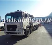 Фотография в Авторынок Самопогрузчик (кран-манипулятор) Новый грузовой-бортовой Hyundai HD250 с КМУ в Кургане 0