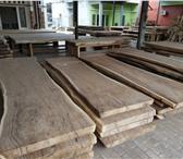 Foto в Строительство и ремонт Строительные материалы Cлэбы и столешницы LOFT дуб карагач необработаный в Новосибирске 6000