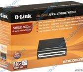 Изображение в Компьютеры Сетевое оборудование Продам роутер D-link DSL-2500U H/W Ver.: в Люберцах 1300