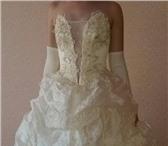 Фото в Одежда и обувь Свадебные платья Новое свадебное платье и аксессуары!В идеальном в Краснодаре 8000