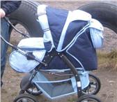 Foto в Для детей Детские коляски Коляска-трансформер,  спинка регулируется в Вологде 3500