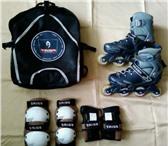 Фотография в Одежда и обувь Спортивная обувь Продам роликовые коньки AMIGO,  раздвижные. в Йошкар-Оле 1000