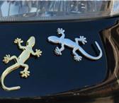 Фото в Авторынок Автонаклейки Авто. отражающая 3D наклейка, геккон ящерица.Название в Ростове-на-Дону 150
