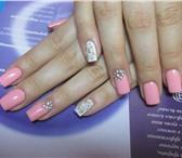 Фото в Красота и здоровье Салоны красоты Наращивание ногтей по гелиевой технологии. в Ярославле 800