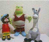 Фотография в Для детей Детские игрушки вязанные куклы и игрушки для подарков. Вяжу в Самаре 400