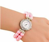 Изображение в Одежда и обувь Часы Часики-браслет, женские, кварцевые, бледно-розовый в Нижнем Новгороде 270