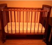 Фотография в Для детей Детская мебель Кроватка в хорошем состоянии, деревянная. в Краснодаре 2300