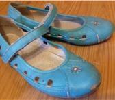 Foto в Для детей Детская обувь Продаю балетки голубые кожа. Б/у. Размер в Ростове-на-Дону 500