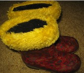 Foto в Для детей Детская обувь продам резиновые сапоги с меховым носком в Томске 300