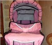 Foto в Для детей Товары для новорожденных коляска-трасформер зима-лето цвет розовый. в Архангельске 3000