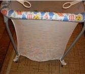 Фото в Для детей Детская мебель Продаю кроватку и манеж. всю информацию расскажу в Ярославле 2500