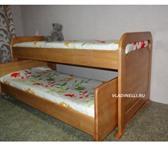 Изображение в Мебель и интерьер Мебель для детей Производство кроватей из массива сосны, бука, в Томске 10000
