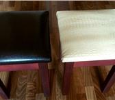 Изображение в Мебель и интерьер Кухонная мебель Продаю табурет обтянутый кож.зам с мягкой в Уфе 700