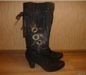 Изображение в Одежда и обувь Женская обувь Продам красивые зимние сапожки из натуральной в Новосибирске 1200