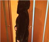 Фото в Одежда и обувь Женская одежда Шуба норковая, цвет черный бриллиант, длинная в Магнитогорске 65000