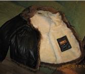 Foto в Одежда и обувь Мужская одежда Продам мужскую зимнюю кожаную куртку, внутри в Омске 15000