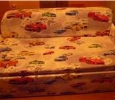Фотография в Для детей Детская мебель детский диванчик-сделан на заказ,яркий материал,выдвижной в Архангельске 5300