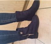 Foto в Одежда и обувь Женская обувь Полусапожки женские, осенние, темно синего в Рязани 1300