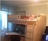 Фотография в Мебель и интерьер Мебель для детей Продам кровать/шкаф/стол +матрац (ортопедический)+тумба=15500 в Красноярске 1