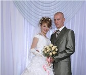 Фотография в Одежда и обувь Свадебные платья Продаю свадебное платье 42-44 рост 165-170см, в Волжском 8000