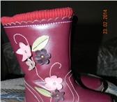 Фотография в Для детей Детская обувь Продаю сапожки детские, демисезонные, фирмы в Ростове-на-Дону 850